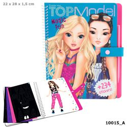 Detailansicht des Artikels: 010015 - TOPModel Magic Fun, Malbuch m