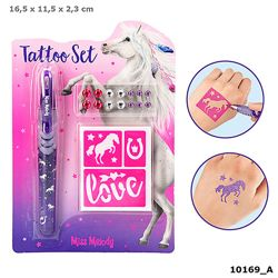 Detailansicht des Artikels: 010169 - Miss Melody Tattoo Set