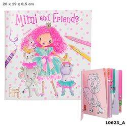 Detailansicht des Artikels: 010623 - Princess Mimi and Friends Mal