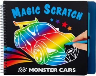 Detailansicht des Artikels: 010928 - Monster Cars Magic Scratch Bo