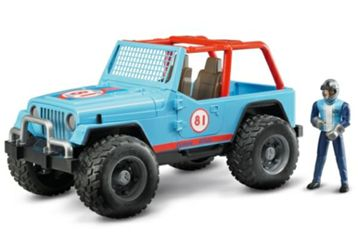 Detailansicht des Artikels: 33108818 - Jeep Cross Country racer blau