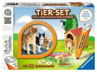Detailansicht des Artikels: 007448 - Tier-Set Golden Retrie